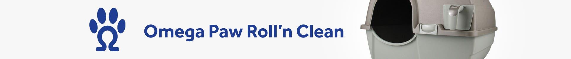 Omega Paw Roll'n Clean Litter Box