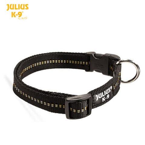 Julius K9 IDC Webbing Collar - Black - (218HB-NL)
