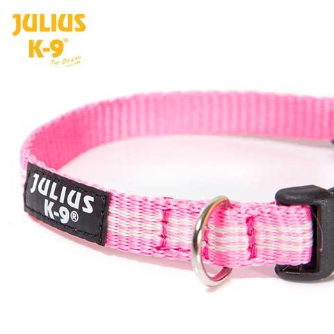 Julius K9 IDC Webbing Collar - PINK - (218HB-NL-PN)