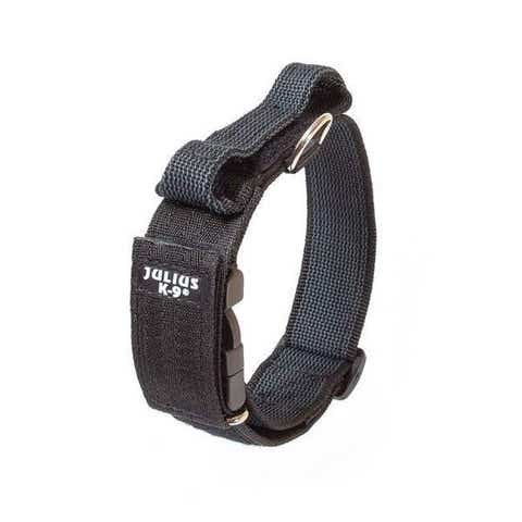 Julius K9 Comfort Walking Collar with Handle - 50mm width (200HA-K-2015)