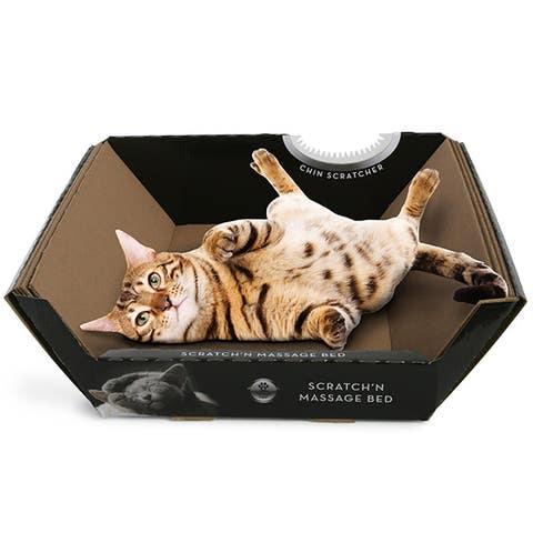 Omega Paw Ripple Board Scratch 'n Massage™ Cat Bed