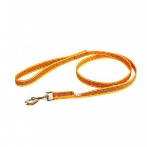 Julius K9 Super-Grip Leash - Orange / Grey - Dogs up to 50kg - (216GM-OR-1,2)