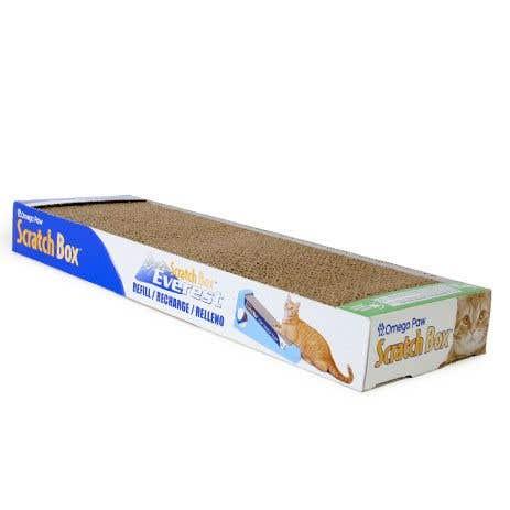 Omega Paw Cardboard Scratch Box