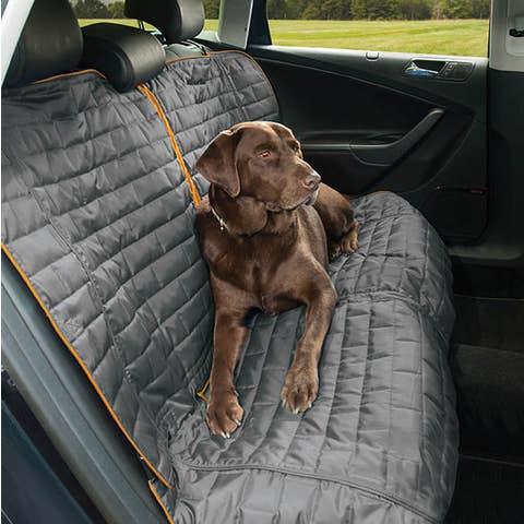 Kurgo Loft Bench Seat Cover - Blue/Charcoal - K01400
