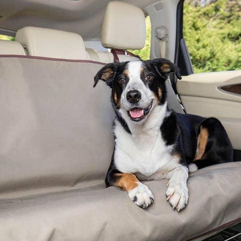 PetSafe Happy Ride Bench Seat Cover - Tan - PTV17-16869